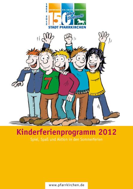 Plakat zum Kinderferienprogramm 2012